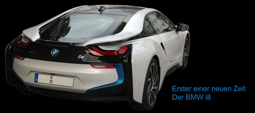 BMW i8 - Erster einer neuen Zeit