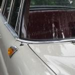 Mercedes-Benz W 110 kleine Heckflosse mit aufgesetzten Hörnchen-Blinker