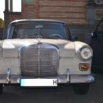 Mercedes-Benz W 110 kleine Heckflosse mit einstrebiger Stoßstange