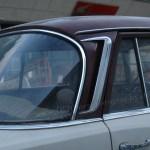 Mercedes-Ben W 110 von 1965-1968 mit verchromte Entlüftungsöffnungen in der C-Säulen