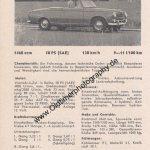 Peugeot 403 Cabriolet technische Daten