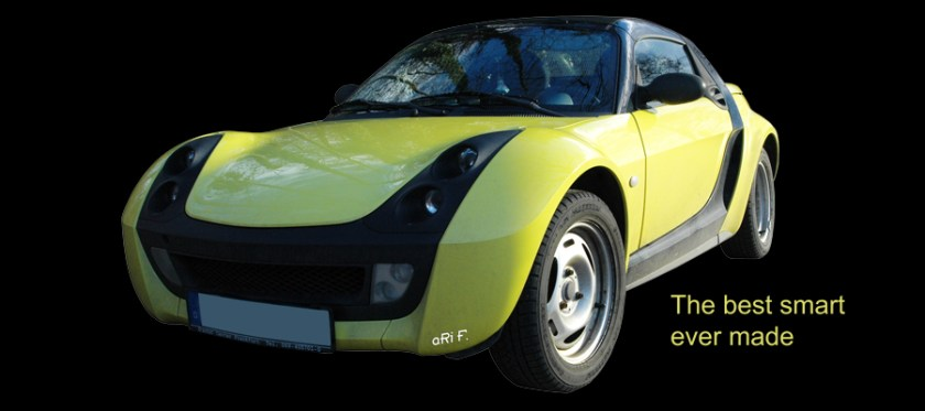 smart Roadster Poster by aRi F.