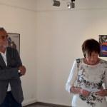 Günther H. Schulze und Erika Lohner in Plattform 3/3 bei der Einführung zu Classic Cars new created by aRi F.
