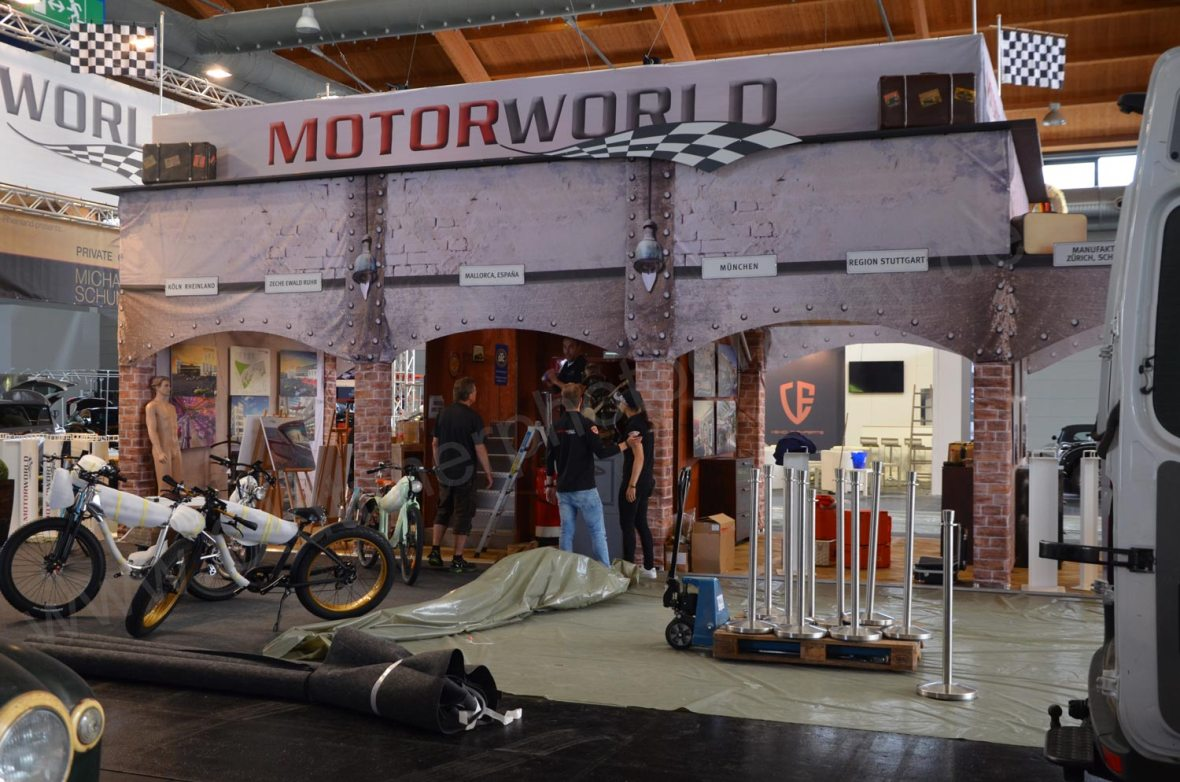 Motorworld Classic Messestand