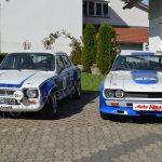 Ford Escort und Ford Capri aus der Oldtimer-Sammlung des Auto Kern