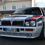 Lancia HF im Martini-Look