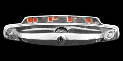 Logo Opel Olympia als Kofferraumgriff
