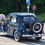 Mercedes-Benz 170 V im Reparaturstau vor den Messehallen...
