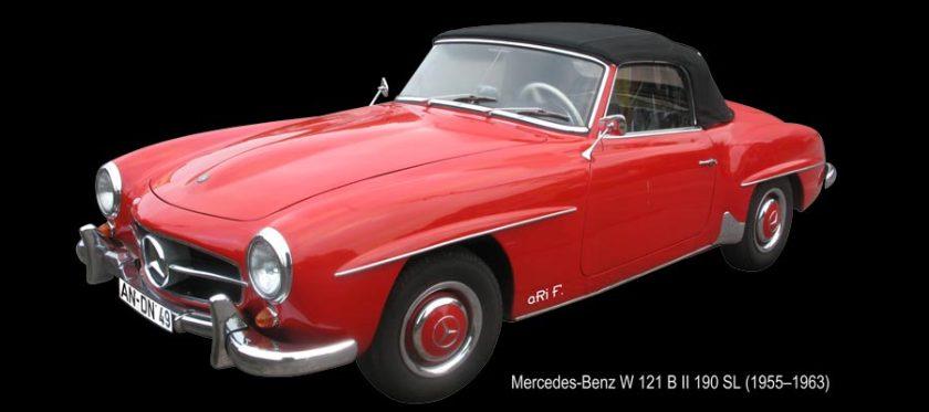 Mercedes-Benz W 121 B II 190 SL (1955–1963) for sale