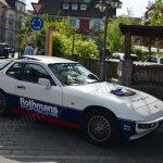 Porsche 924 im Rothmans-look