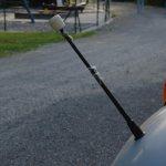 Sirius D7L Rundhauber mit Peilstäben auf beiden Kotflügel