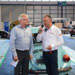 Wolfgang Köhle, Pressesprecher Messe Friedrichshafen und Projektleiter Roland Bosch im Interview