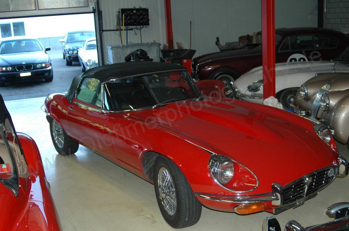 Jaguar E-Type Series III Roadster geschlossen