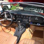 Jaguar E-Type Series III Roadster Interieur mit Lederausstattung