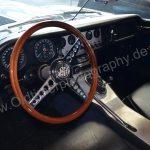Jaguar E-Type Serie I Roadster Innenansicht
