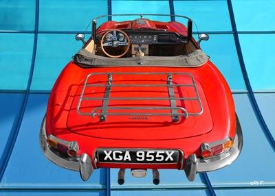 Jaguar E-Type Roadster Series I Poster in original color