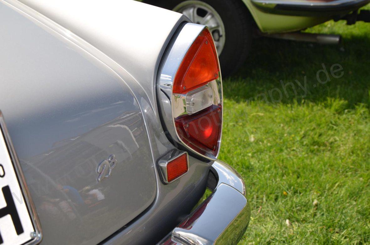 Lancia Flaminia 2.8 Heckdetail Blinker