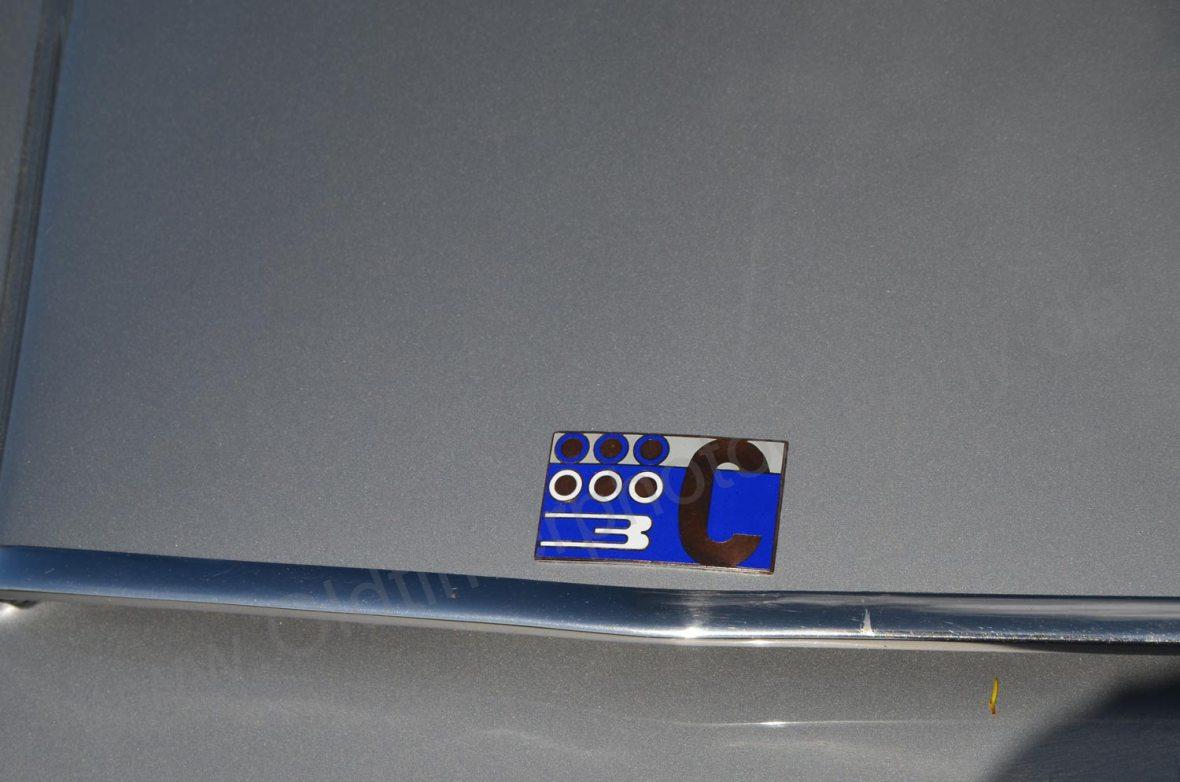 Lancia Flaminia mit 3C Typenschild am Heck