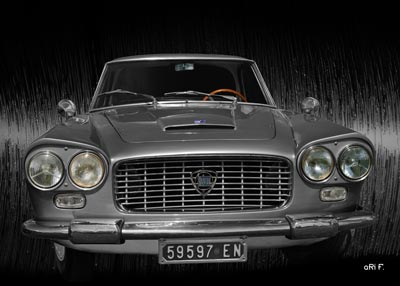 Lancia Flaminia in Originalfarbe metallicsilber kaufen