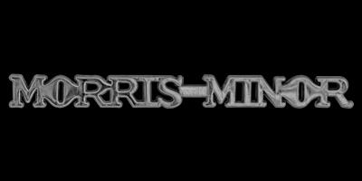 Logo Morris Minor vorne seitlich