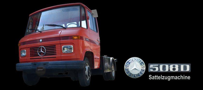 Mercedes-Benz 508 D mit Sattelzugmaschine kaufen