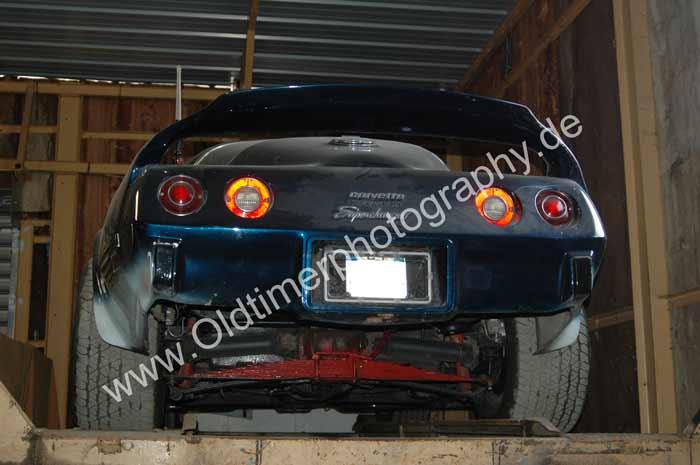 Corvette C3 Supercharged rear view