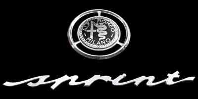 Logo Alfa Romeo Giulietta sprint
