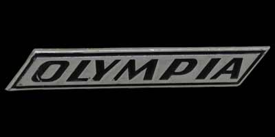 Logo Opel Olympia A auf Kotflügel vorn (1967-1970)