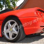 Ferrari F355 Spider Heckdetail / rear view