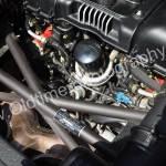 Ferrari F355 Spider und wassergekühltem 90-Grad-Achtzylinder-V-Motor
