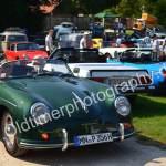 Porsche 356 Speedster auch mit 40 PS flott zum Oldtimer Picknick in Wolfegg