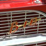 Volvo Amazon 122S mit B18 Logo auf Kühlergrill