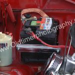 Volvo Amazon 122S mit 12 Volt Batterie