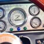 1936 Auburn 852 Supercharged Speedster Armaturen und Messinstrumente