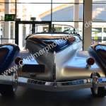 1936 Auburn 852 Supercharged Speedster Heckansicht wie ein Boattail