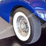 1936 Auburn 852 Supercharged Speedster mit Original verchromten Speichenfelgen
