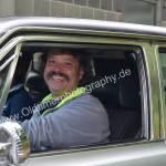 AMC Ambassador SST mit glücklichen Fahrern
