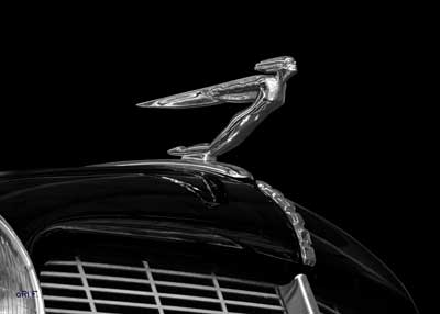 Auburn 852 Supercharged Speedster Hood Ornament Winged Man