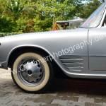 Auto Union 1000 SE millespecial Seitenansicht vorne mit original Weißwandreifen