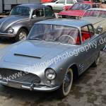 Auto Union 1000 SE millespecial mit Käfer Mexico, VW Karmann Ghia und Audi 100 Coupé S