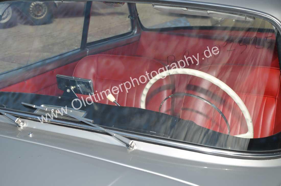 Auto Union 1000 SE millespecial mit Sicht auf das Interieur