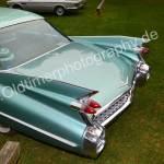 Cadillac Series 62 Baujahr 1959 Heckansicht von oben