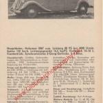 Citroën Traction 15 Six Datenblatt publicité Werbung aus Auto Katalog 1964