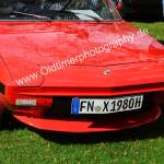 Fiat X1/9 five speed Frontdetail