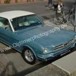 Ford Mustang 1 Ansicht von oben
