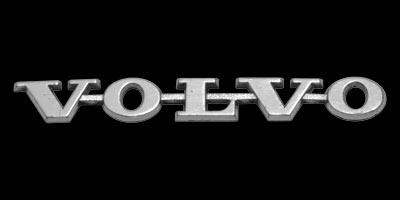 Logo Volvo P1800 auf Heckklappe