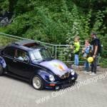 VW Käfer mit Airbrush-Lackierung, damals normal, heute sieht man fast keine mehr auf neuen Fahrzeugen
