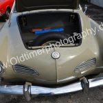 VW Karmann Ghia Typ 14 mit geöffnetem Kofferraum vorne