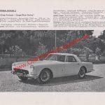 Ferrari 250 GT - Werbung aus Auto Modelle Katalog von 1959