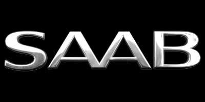 Logo SAAB auf Saab 9-5 (1997–2010)